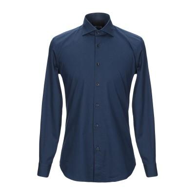 OUTFIT シャツ ダークブルー S コットン 97% / ポリウレタン 3% シャツ