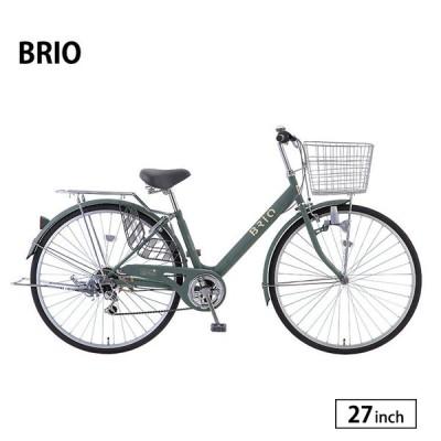 自転車 27インチ ブリオ 外装6段変速 サカモトテクノ