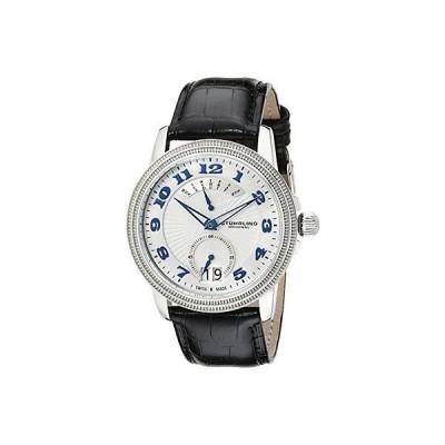 海外セレクション 腕時計 Stuhrling Original 788 01 メンズ Symphony アナログ ディスプレイ スイス クォーツ ブラック 腕時計