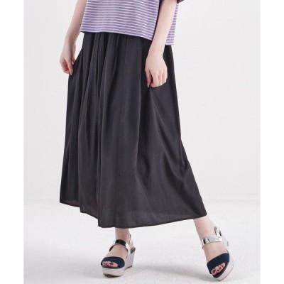 スカート ギャザーフレアスカート/CD0018