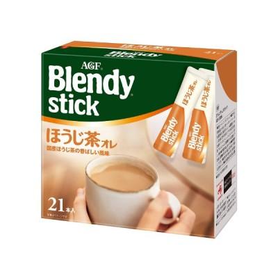 AGF ブレンディ スティック ほうじ茶オレ 10g×21本 6箱