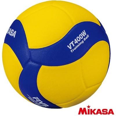 ミカサ バレーボール 4号球 トレーニングボール 400g VT400W バレーボール用品