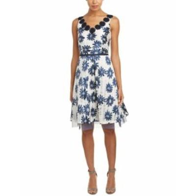 Sara  ファッション ドレス Sara Campbell A-Line Dress 2 Blue