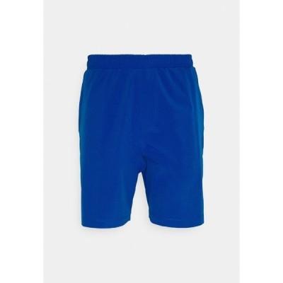 トミー ヒルフィガー カジュアルパンツ メンズ ボトムス LOGO TRAINING SHORT - Sports shorts - blue