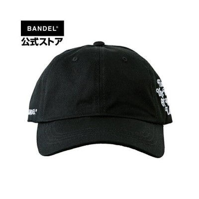 Cap Have The Time of Your Life Side Logo Low Black BANDEL cap キャップ