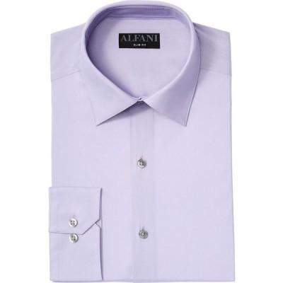 アルファニ Alfani メンズ シャツ トップス Slim-Fit Performance Stretch Solid Dress Shirt Pale Pink