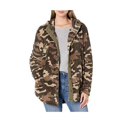Volcom ジュニア アンダーラップ フード付きシェルパジャケット US サイズ: Small カラー: グリーン
