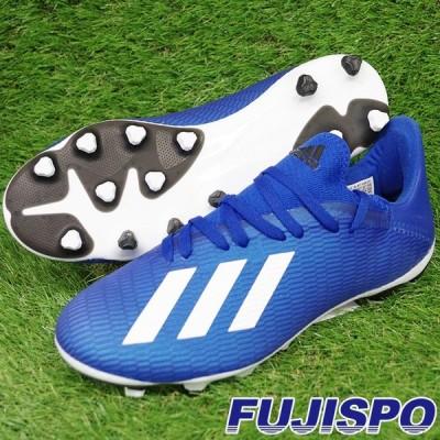 エックス 19.3 HG/AG アディダス(adidas) サッカースパイク チームロイヤルブルー×フットウェアホワイト×コアブラック (EG1493)