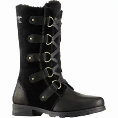 ソレル ブーツ Emelie Lace Boot Black
