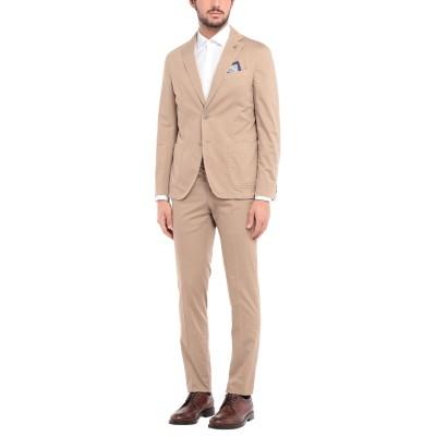 パオローニ PAOLONI スーツ サンド 50 コットン 98% / ポリウレタン 2% スーツ