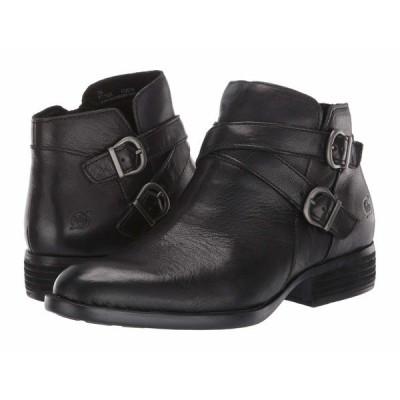 ボーン ブーツ&レインブーツ シューズ レディース Ozark Black Full Grain Leather