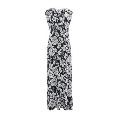 アイネア AINEA ロングワンピース&ドレス ブラック 40 ポリエステル 100% ロングワンピース&ドレス