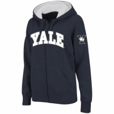 Stadium Athletic スタジアム アスレティック スポーツ用品  Stadium Athletic Yale Bulldogs Womens Navy Arched Nam