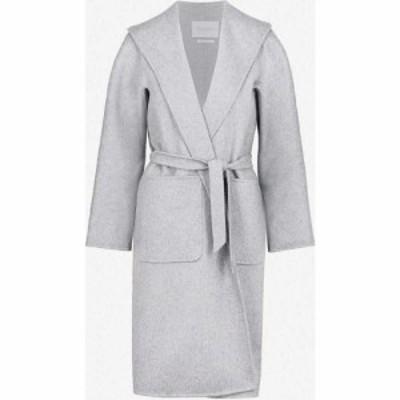 マックスマーラ MAX MARA レディース コート アウター lilia belted cashmere coat Grey