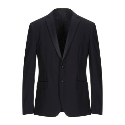 トネッロ TONELLO テーラードジャケット ダークブルー 52 バージンウール 97% / ポリウレタン 3% テーラードジャケット