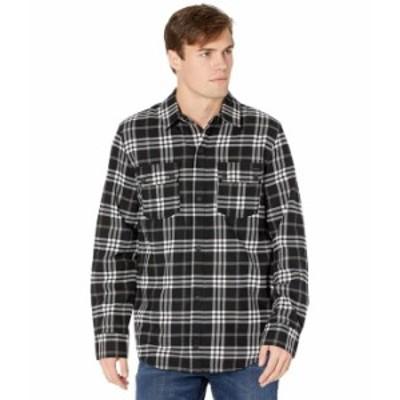 ボルコム メンズ シャツ トップス Sherpa Flannel Jacket Black