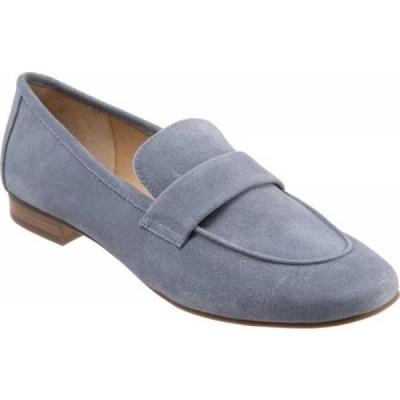 トロッターズ Trotters レディース ローファー・オックスフォード シューズ・靴 Gemma Loafer Light Blue