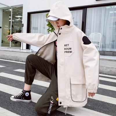 レディース ジャケット ロングコート プリンス ステンカラーコート フード付き 春 防寒 上品
