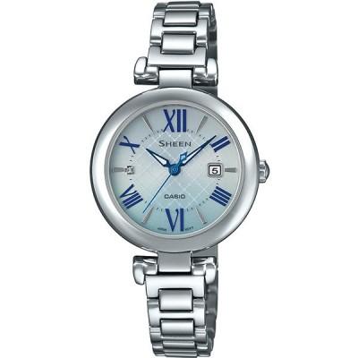 カシオ レディース腕時計 シーン SHS-4502D-2AJF CASIO SHEEN ソーラー メタルバンド 新品 国内正規品