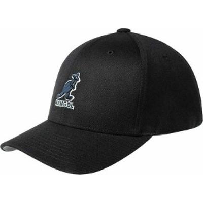 カンゴール メンズ 帽子 アクセサリー Men's Kangol 3D Wool Flexfit Baseball Cap Black/Black