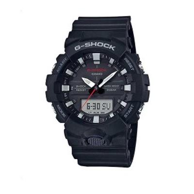 腕時計 メンズ カシオ CASIO Gショック G-SHOCK アナデジコンビ アナデジ クオーツ クロノ GA-800-1A ブラック ブラック