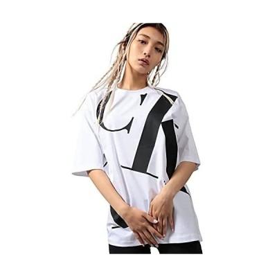 (カルバンクライン) シルエット ロゴ ショート スリーブ Tシャツ J216154