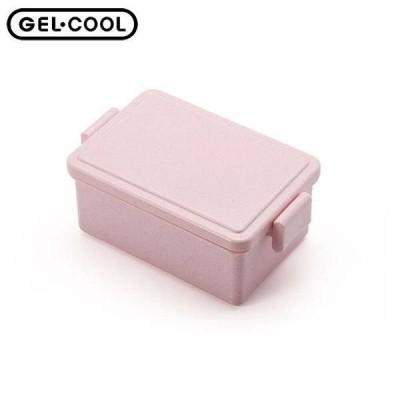 GEL-COOL スクエア L ジェラートプレーン ストロベリー ジェルクール ランチボックス 弁当箱 三好製作所 CODE:321500