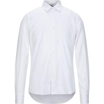 ロウブランド LOW BRAND メンズ シャツ トップス striped shirt White