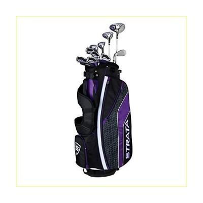 Callaway Women's Strata Ultimate Complete Golf Set (16-Piece, Right Hand, Graphite)【並行輸入品】