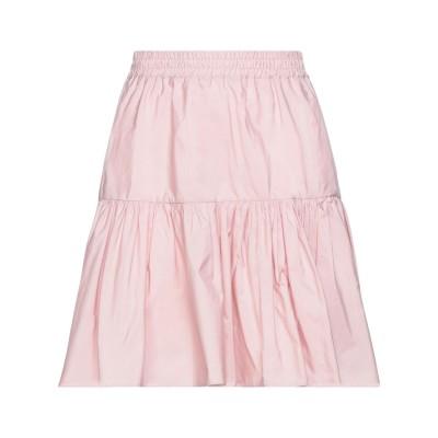 テッサ .TESSA ミディスカート ピンク 42 ポリエステル 100% ミディスカート
