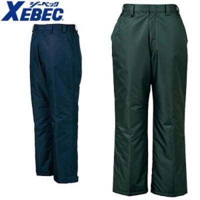 防寒パンツ ジーベック XEBEC エコ防水パンツ 570 作業着 防寒 作業服