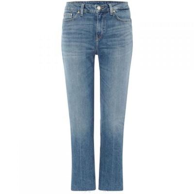 トミー ヒルフィガー Tommy Hilfiger レディース ジーンズ・デニム ボトムス・パンツ Slim Straight Fit Cropped Jeans Denim