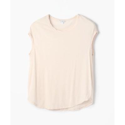 【トゥモローランド】 ハイゲージ クルーネックTシャツ WEK3356 レディース 32ピンク系 1(M) TOMORROWLAND