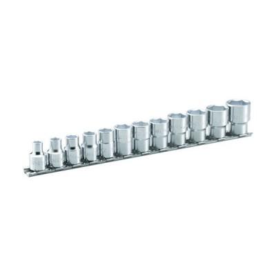 TONE ソケットセット(6角・ホルダー付) 吋目 12pcs (1S) 品番:HSB312