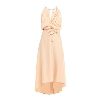 クロエ CHLOÉ 7分丈ワンピース・ドレス ベージュ 40 トリアセテート 83% / ポリエステル 17% 7分丈ワンピース・ドレス
