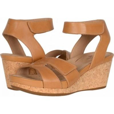 クラークス Clarks レディース シューズ・靴 Un Capri Strap Light Tan Leather