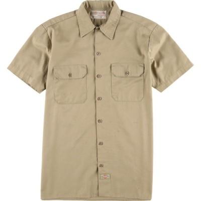 ディッキーズ Dickies 半袖 ワークシャツ メンズM /eaa029987