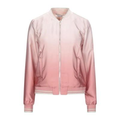 NAF NAF ボンバージャケット  レディースファッション  ジャケット  ブルゾン、ジャンバー ピンク