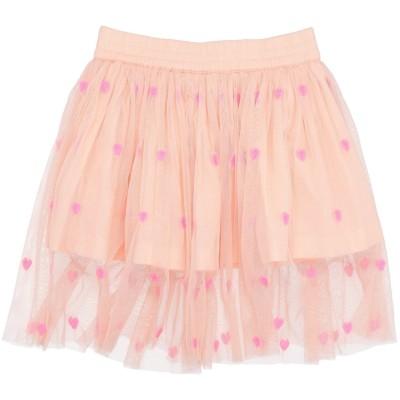 ステラ マッカートニー キッズ STELLA McCARTNEY KIDS スカート サーモンピンク 3 リサイクルポリエステル 100% スカート