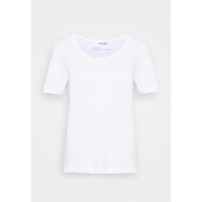 セレクテッドフェム Tシャツ レディース トップス Basic T-shirt - bright white