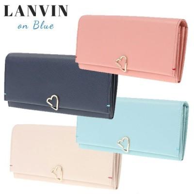 ランバンオンブルー  財布 フラップ長財布 LANVIN en Bleu ロシェ 牛革 482580