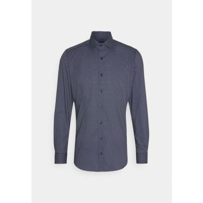 オリンプ メンズ ファッション Formal shirt - marine