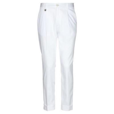 HAVANA & CO. パンツ ホワイト 46 コットン 97% / ポリウレタン 3% パンツ