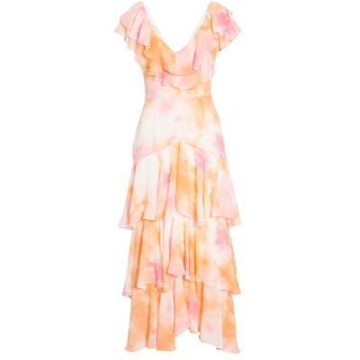 ワイフ ワンピース トップス レディース Chelsea Tiered Ruffle Maxi Dress Passion Tie Dye