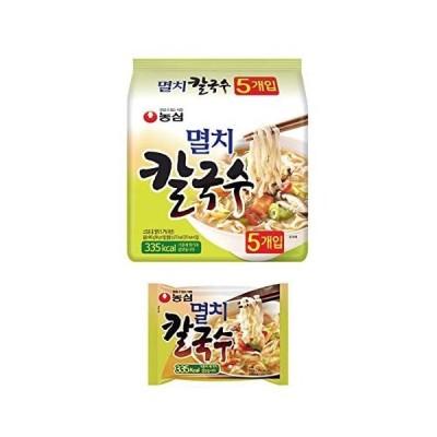韓国うどん 煮干し カルグクス ミョルチ カルグッス 5食入り | 韓国ラーメン ノンフライ 平麺