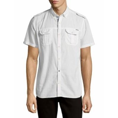 バファローデビッドビトン メンズ トップス セーター ニット Cotton Button-Down Shirt