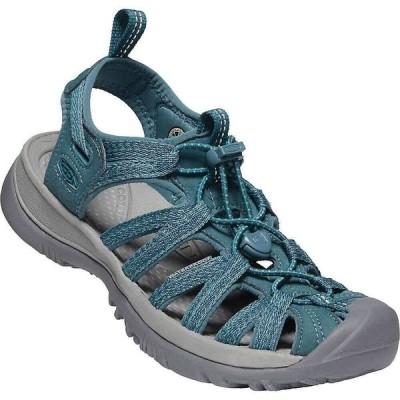 キーン Keen レディース サンダル・ミュール シューズ・靴 KEEN Whisper Water Sandals with Toe Protection Smoke Blue