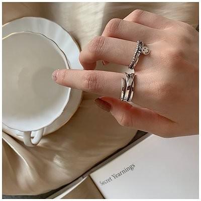 国内無料発送 シンプル リング 指輪 金属アレルギー対応 新作入荷 彼女 レディース 手つくり