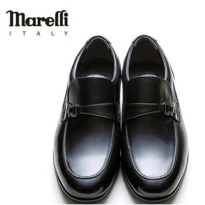 Marelli マレリー 3020 日本製 4E EEEE 本革 ビット  メンズ ビジネスシューズ
