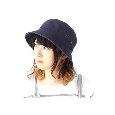 Pgeek コットン バケットハット メンズ レディース 春 夏 春夏 フェス (ネイビー 58.0 cm)